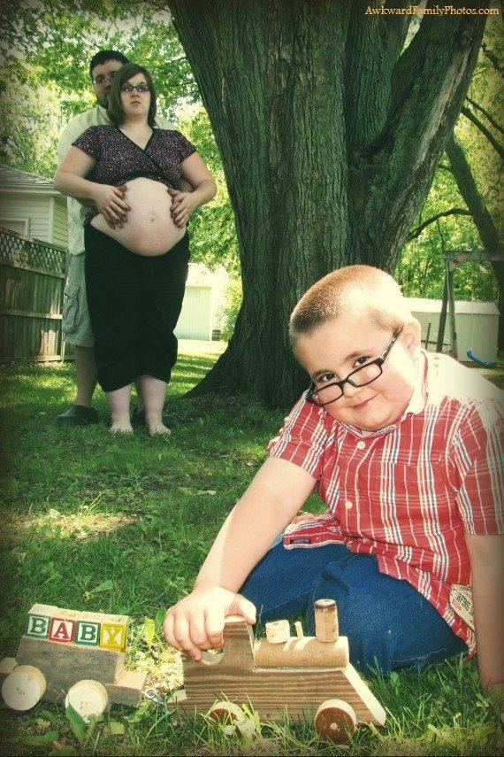 Weird Embarrassing Pregnancy Photos 4