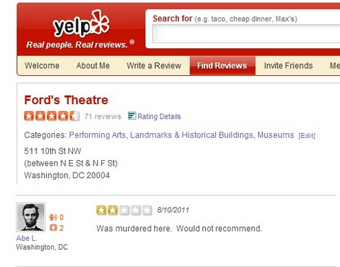 funniest yelp reviews