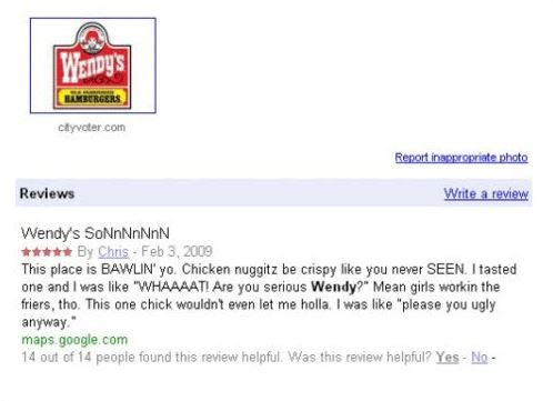The 20 Funniest Yelp Reviews Ever (GALLERY ... Funny Hotel Reviews