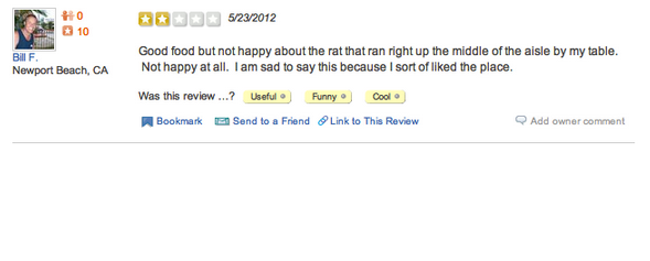 yelp review funny