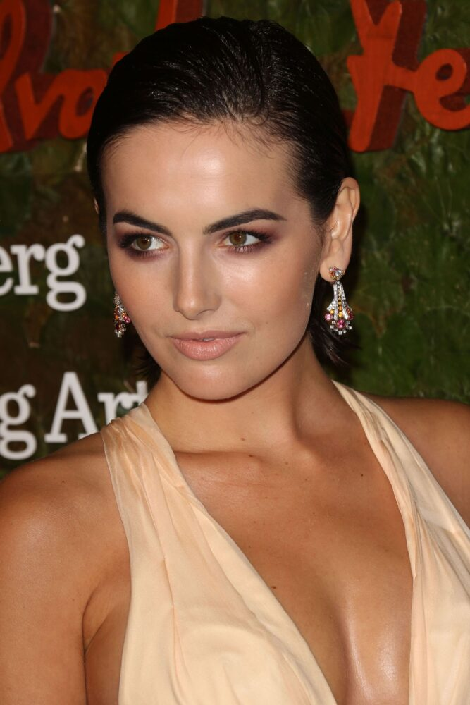 camilla belle hot cleavage boobs