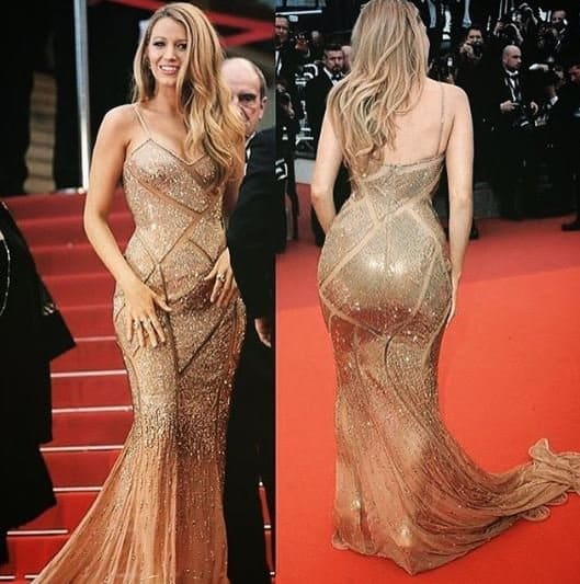 blake lively instagram booty red carpet controversy