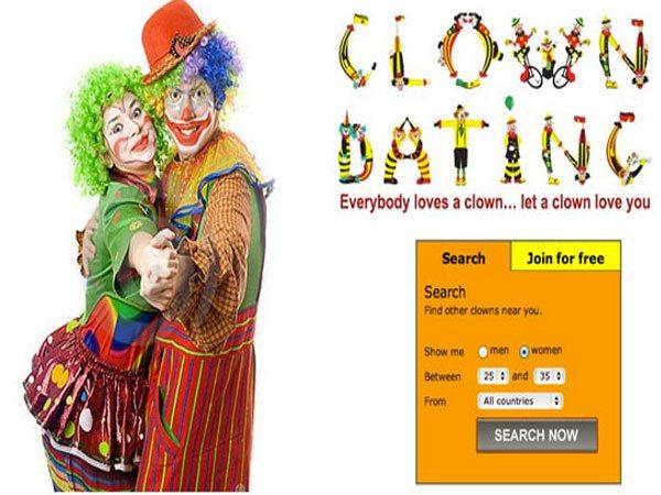 Clown dating website
