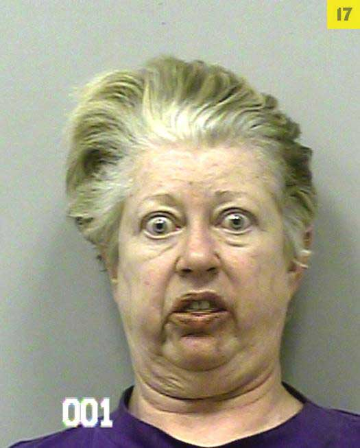 The 30 Funniest Mugshot Faces Ever Gallery