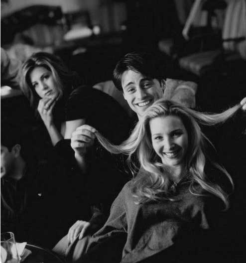 rare behind the scenes friends