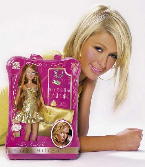 paris hilton doll style
