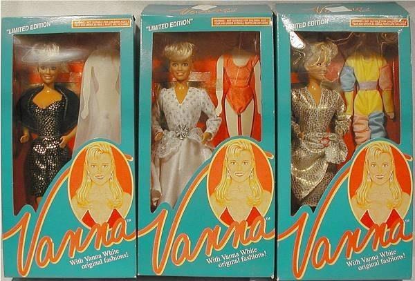 vanna white doll