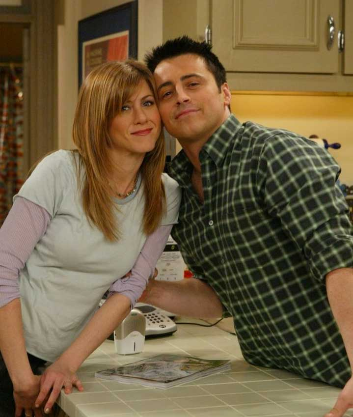 behind the scenes friends picture