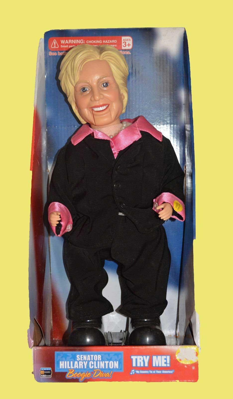 hillary clinton doll