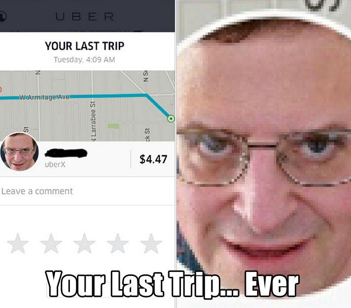 Uber Last Trip