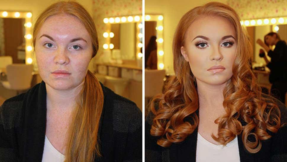 20 Shocking Makeup Transformations