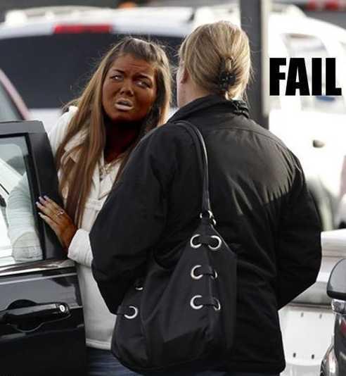 Spray Tans From Hell (20 PHOTOS) | WorldWideInterweb
