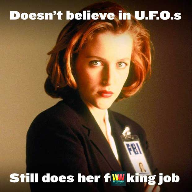 The Funniest X Files Memes Gallery