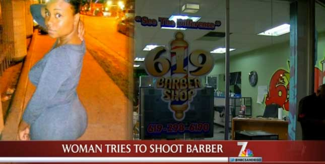 Unhappy With Haircut Woman Pulls Gun On Barber Worldwideinterweb