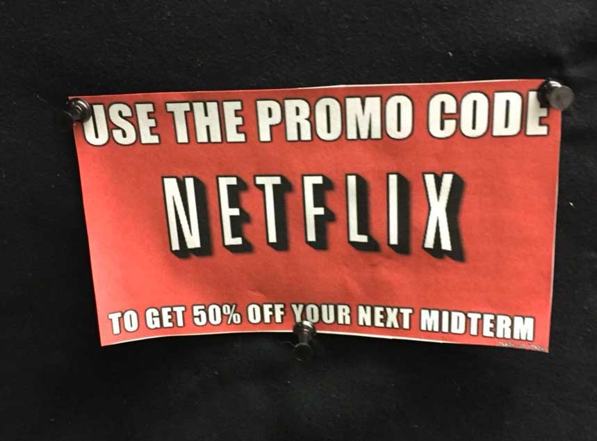Netflix coupon codes and sales, just follow this link to the website to browse their current offerings. And while you're there, sign up for emails to get alerts about discounts and more, right in your inbox.