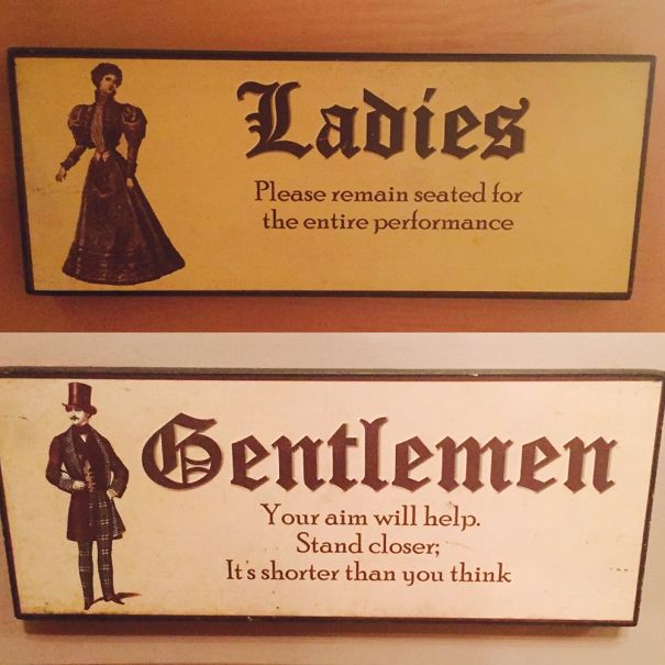 You 39 re never too old for a little toilet humor gallery for Bathroom jokes