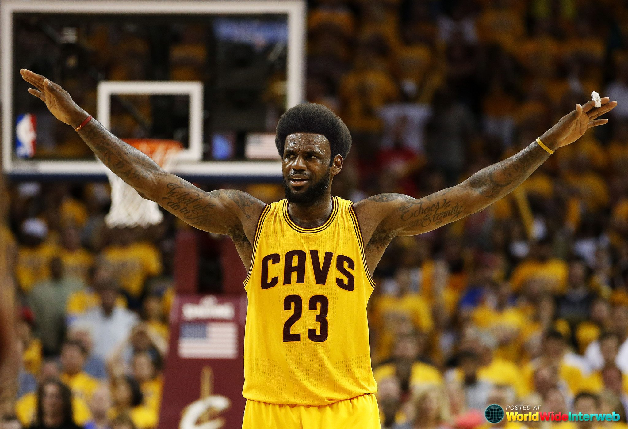 What If Everyone In The NBA Conference Finals Had Afros (GALLERY) | WWI