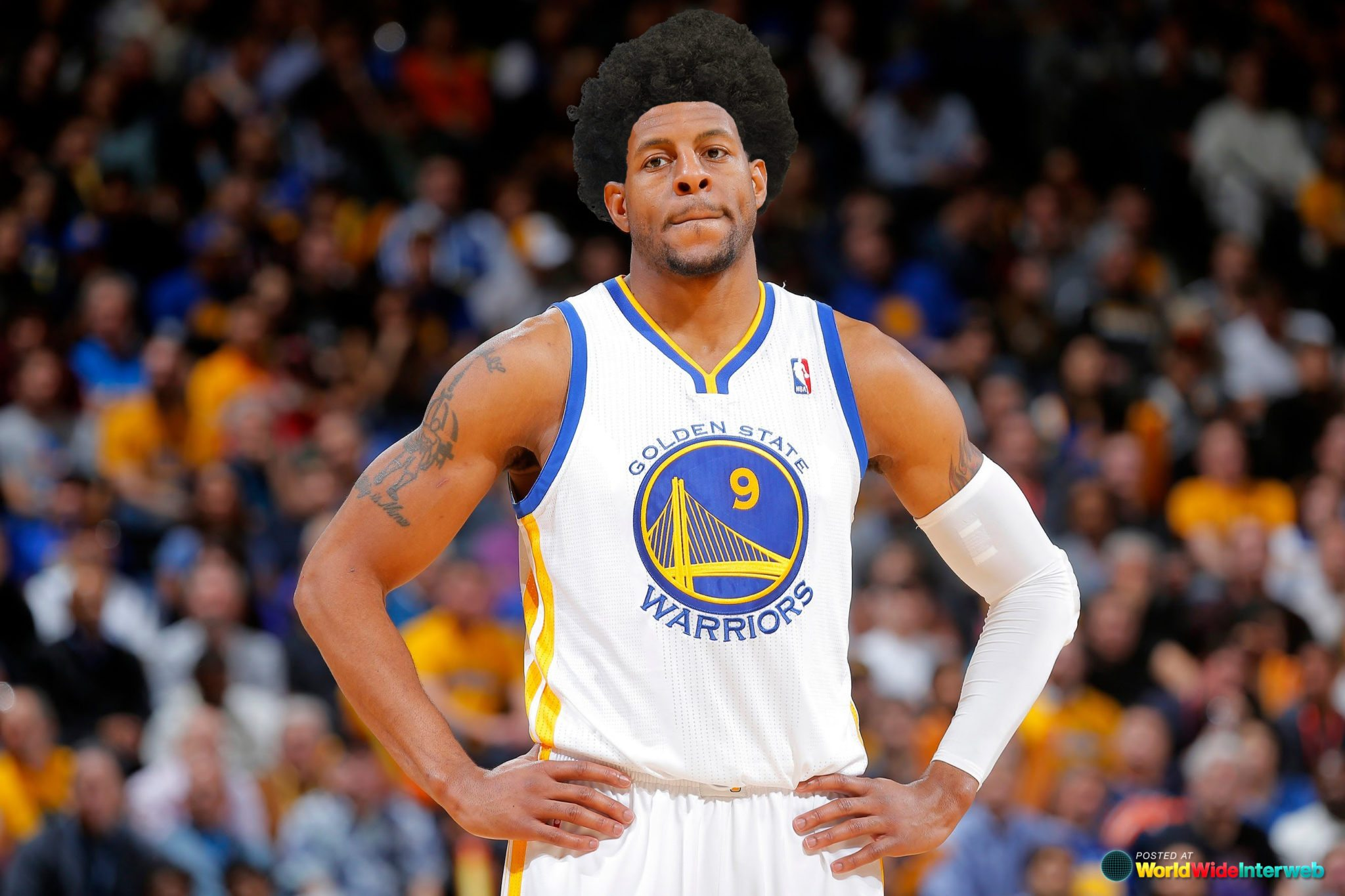 Basketball Players: What If Everyone In The NBA Conference Finals Had Afros