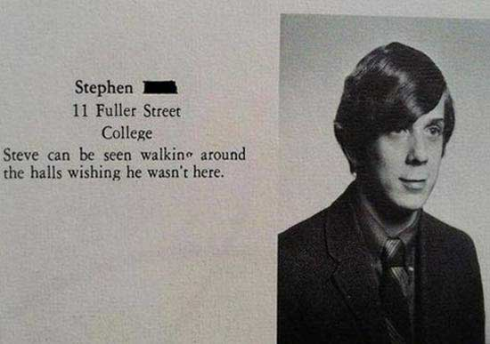 Funny Yearbook Names: The 20 Funniest Vintage Yearbook Quotes (GALLERY