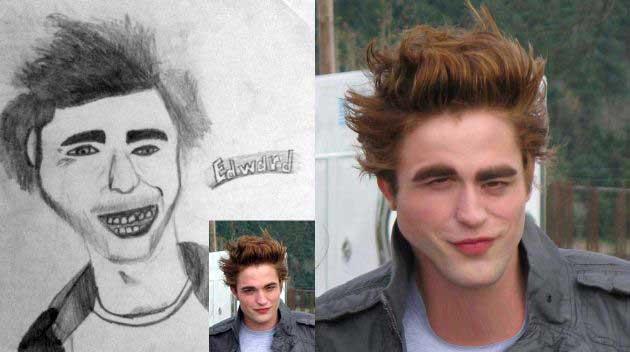 What If Celebrities Looked Like Bad Fan Art GALLERY