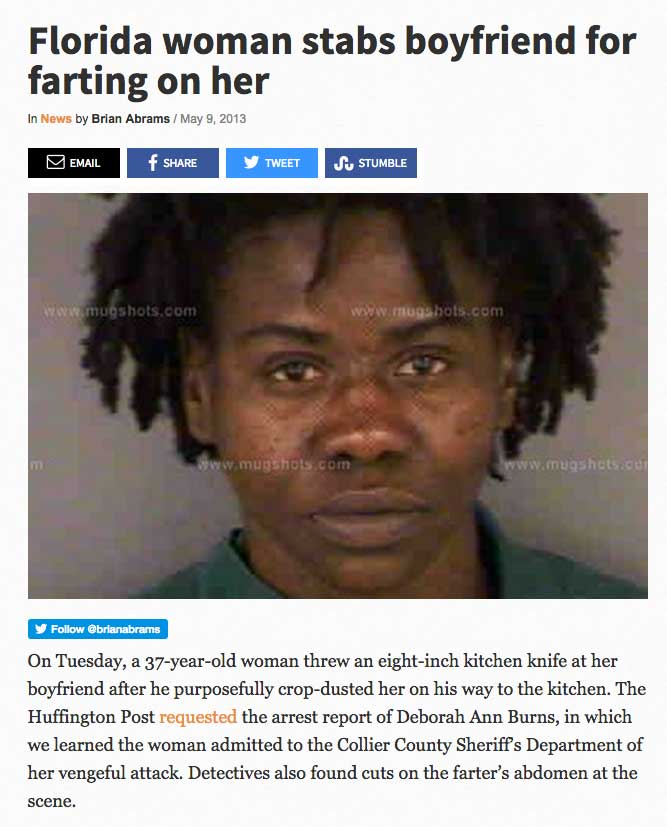 The 50 Most Insane Florida News Headlines Of All Time ...