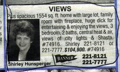 classified ad typo