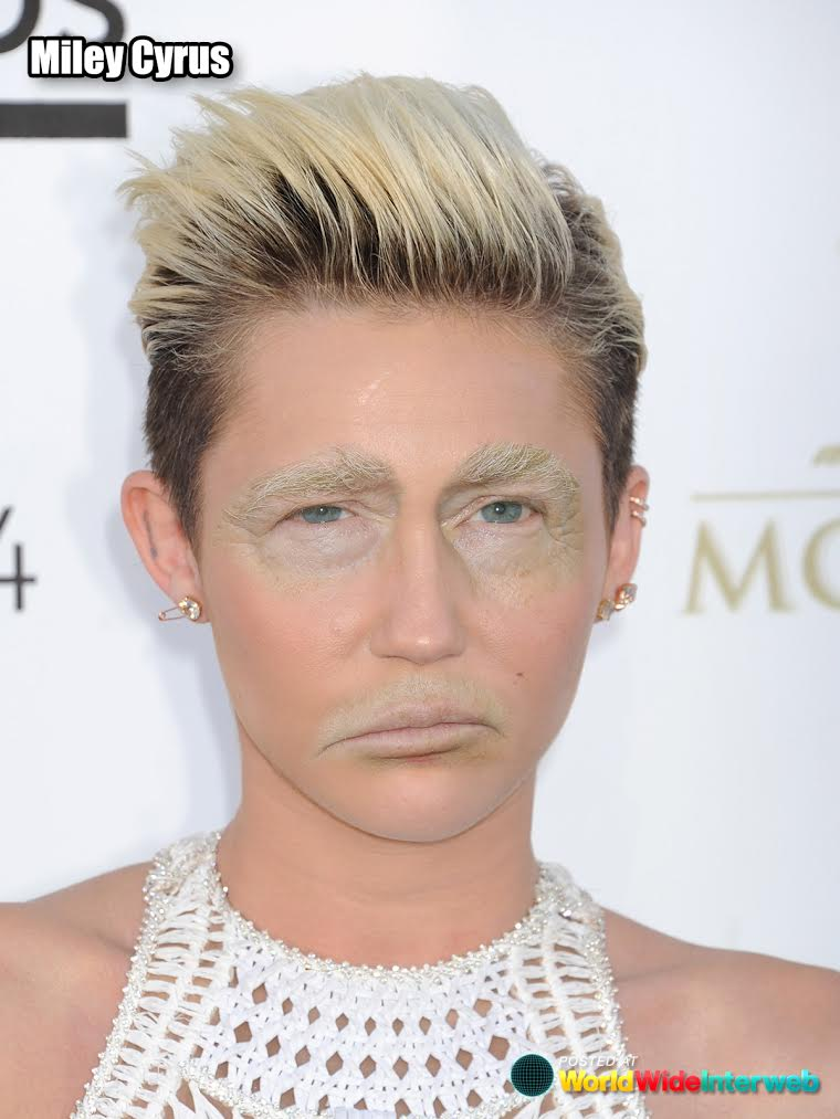 celebs with trump eyes mouth