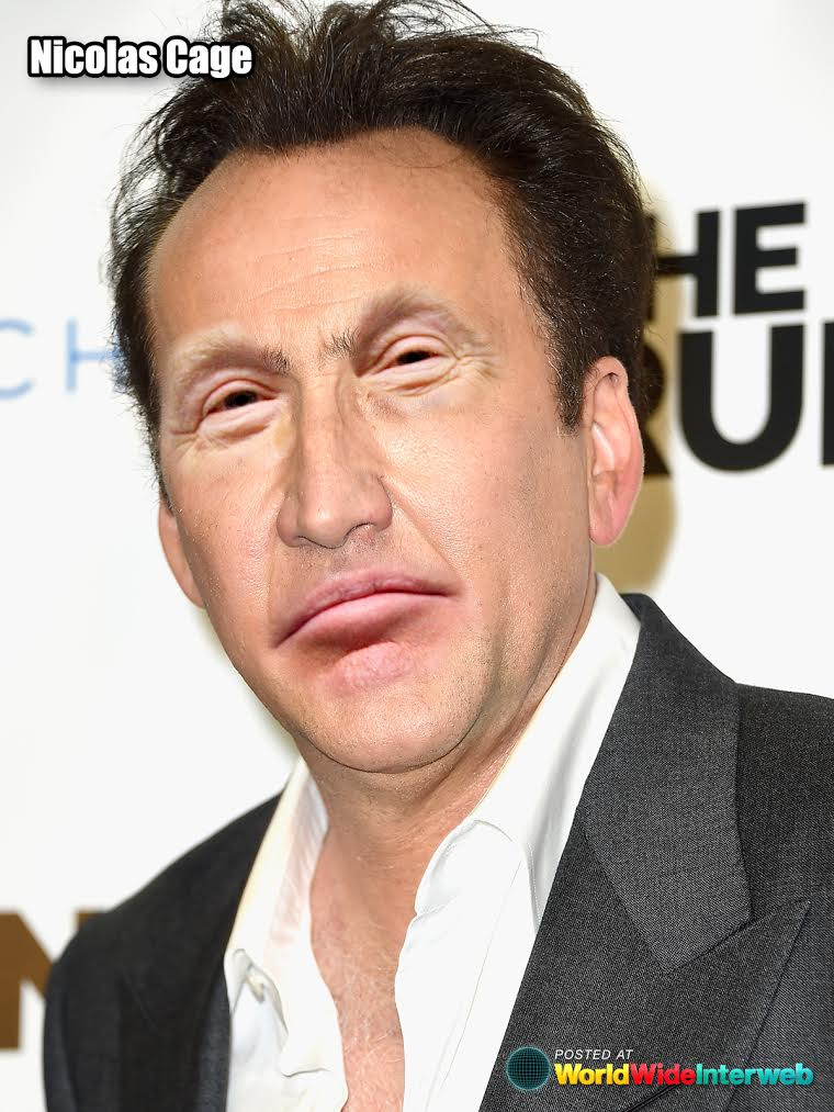 nicolas cage trump eyes mouth