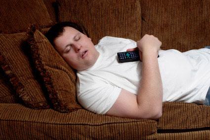 man-lazy