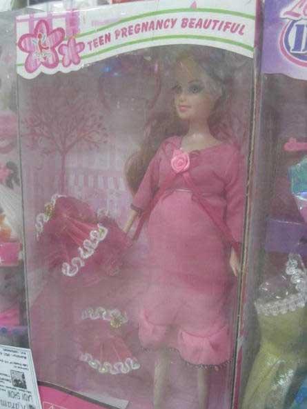 teen pregnancy barbie