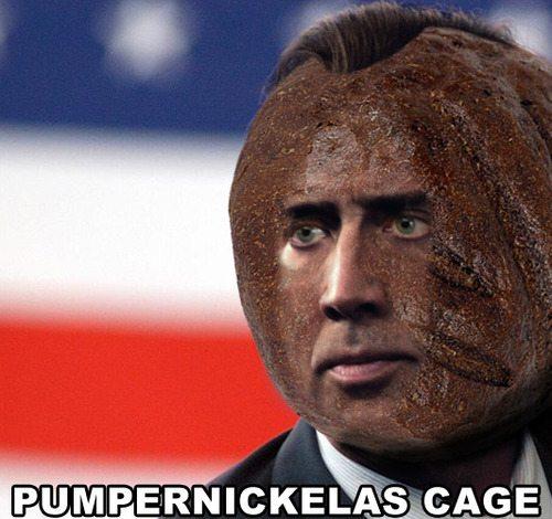 pumpernickelas-cage