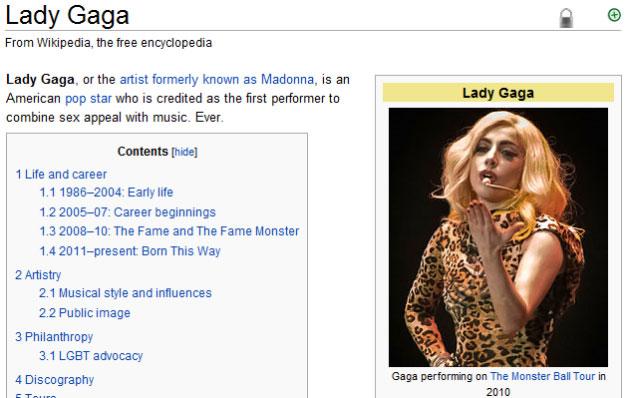 Fotografi celebrity wikipedia entries