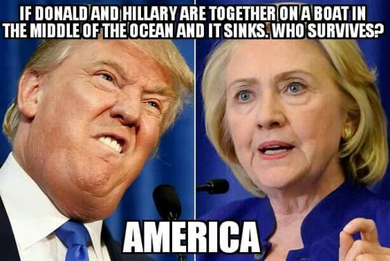 Hillary 2016 Meme Funny : The funniest donald trump vs hillary clinton memes
