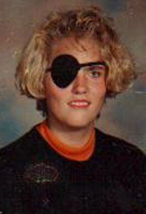 yearbook eye patch