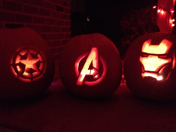 avengers-pumpkin-carving