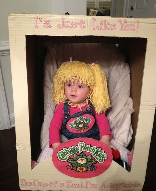 clever baby halloween costumes