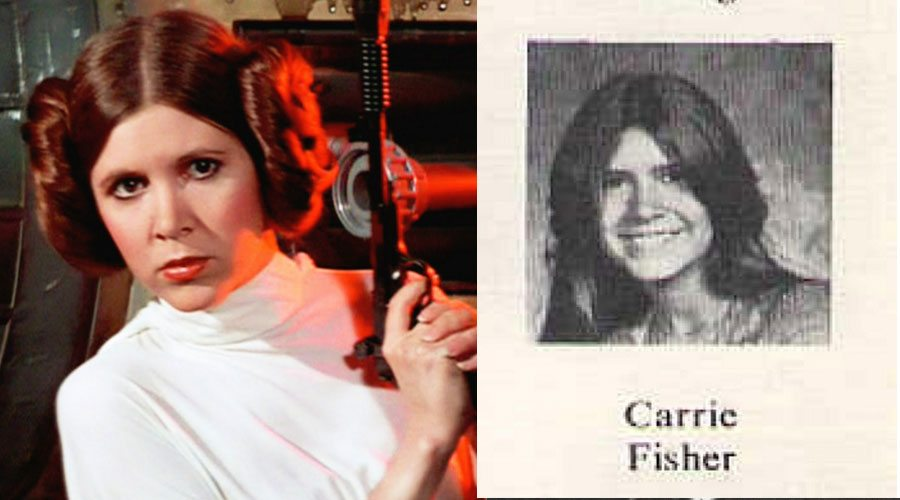 carrie-fisher-yearbook
