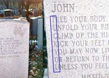 clever tombstone