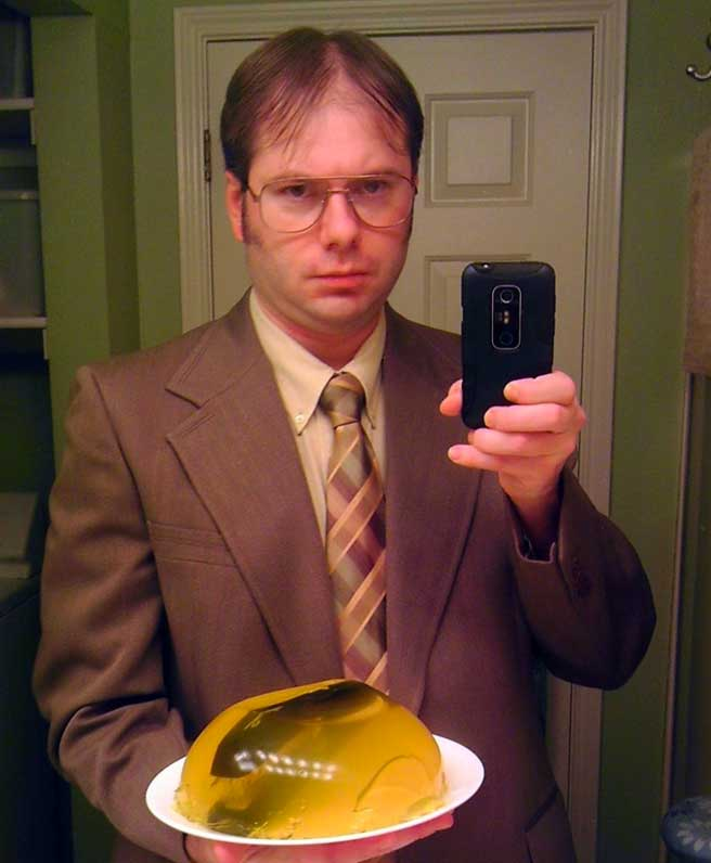 dwight schrute halloween