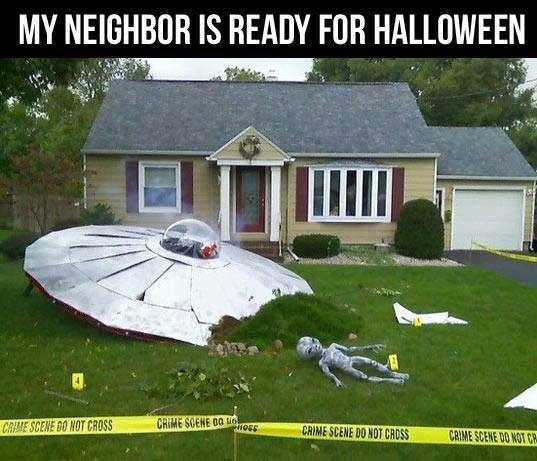 halloween neighbor
