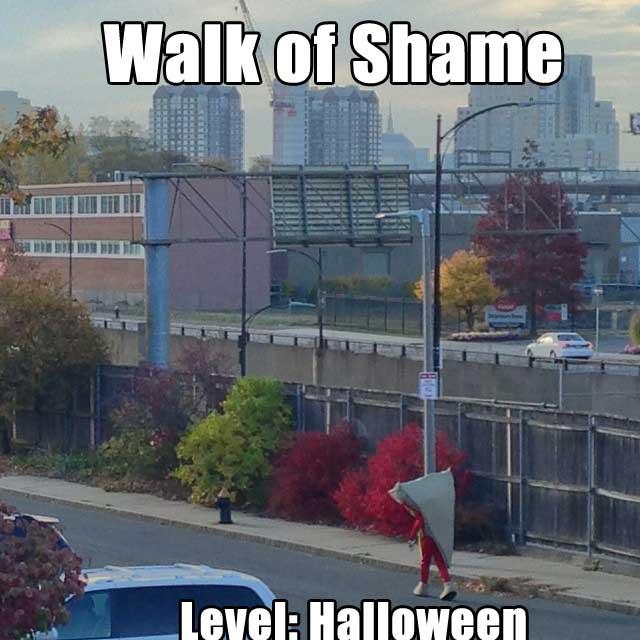 walk of shame halloween