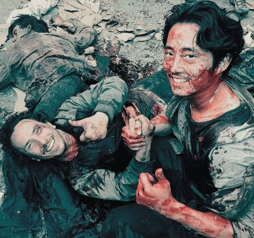 walking-dead-behind-the-scenes-funny-pics
