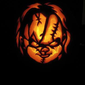 childs play pumpkin