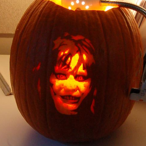 exorcist pumpkin