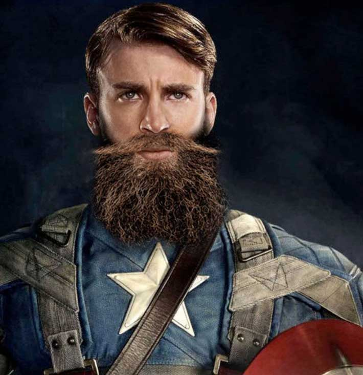 If all superheroes had beards gallery