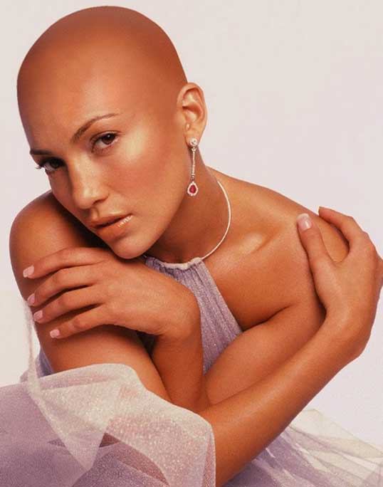 What If All Female Celebrities Were Bald 35 Photos