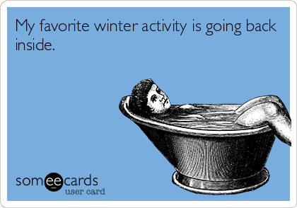 favorite winter activity