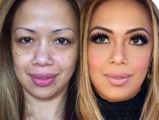 20 shocking makeup transformations gallery
