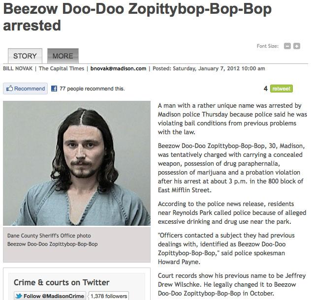 beezow-name