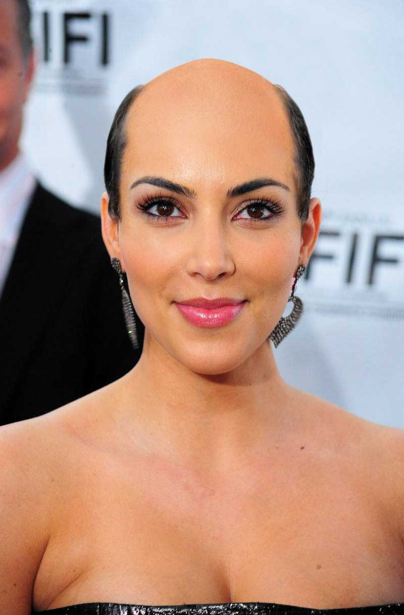 What If All Female Celebrities Were Bald (35 PHOTOS